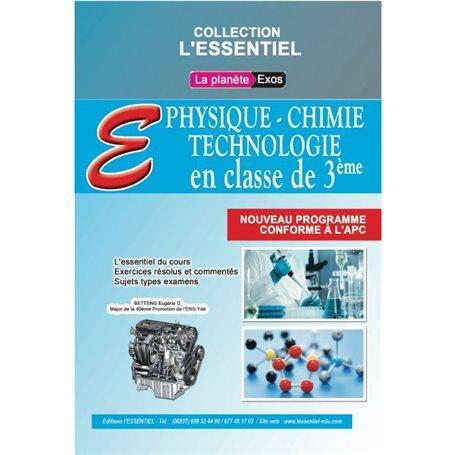 Annale de Physique-chimie-Technologie -  l'ESSENTIEL | 3ème - BEPC