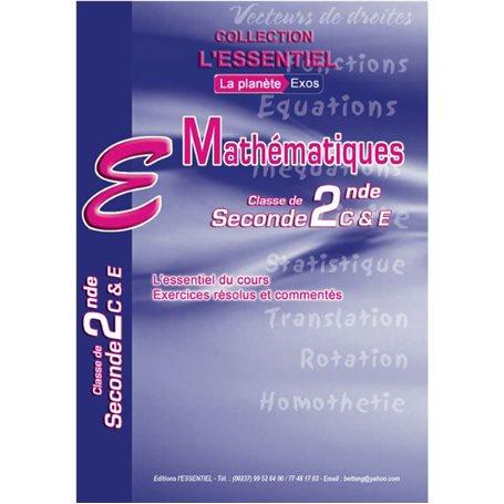 Annale de Mathématiques -  l'ESSENTIEL | 2nde C & E