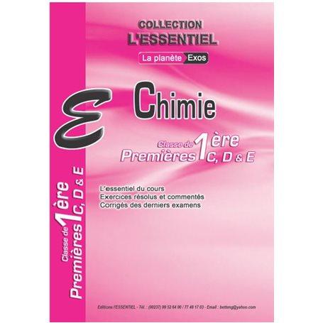 Annale de Chimie -  l'ESSENTIEL | 1ère CDE - Probatoire