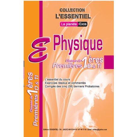 Annale de Physique -  l'ESSENTIEL | 1ère D & TI - Probatoire