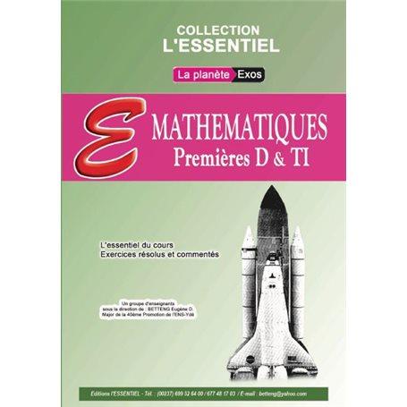 Annale de Mathématiques -  l'ESSENTIEL | 1ère D & TI - Probatoire