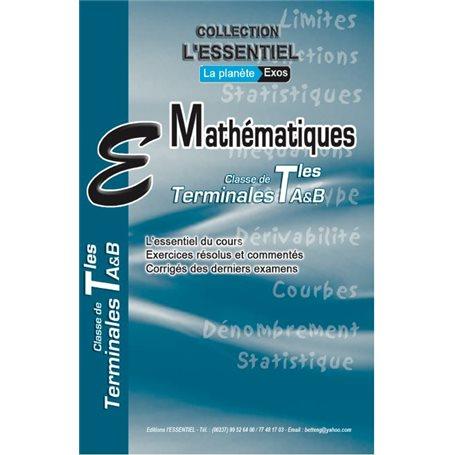 Annale de Mathématiques -  l'ESSENTIEL | Tle A & SES  - BAC