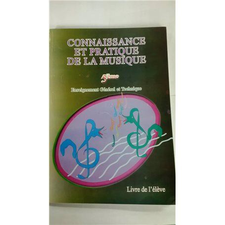 Connaissance et pratique de la musique 6ème/5ème | Niveau 5ème