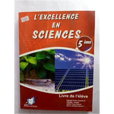 L'Excellence en Sciences | Niveau 5ème