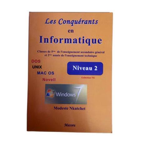 Les conquérants en Informatique Niveau 2 | Niveau 5ème