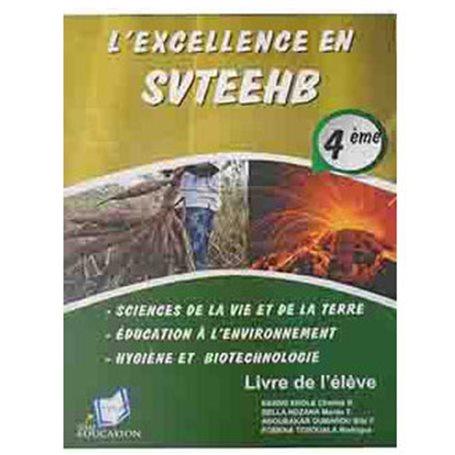 L'Excellence en SVTEEHB | Niveau 4ème