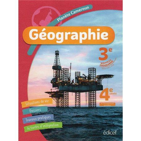 Planète Cameroun Géographie 3ème | Niveau 3ème