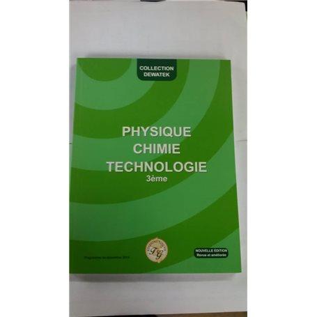 Psysique, Chimie, Technologie | Niveau 3ème
