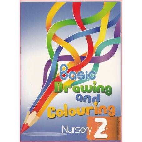 Basic drawing and colouring for beginners | Level Nursery two