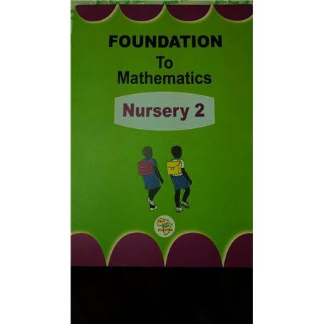 Foundation to Mathematics | Level Nursery two