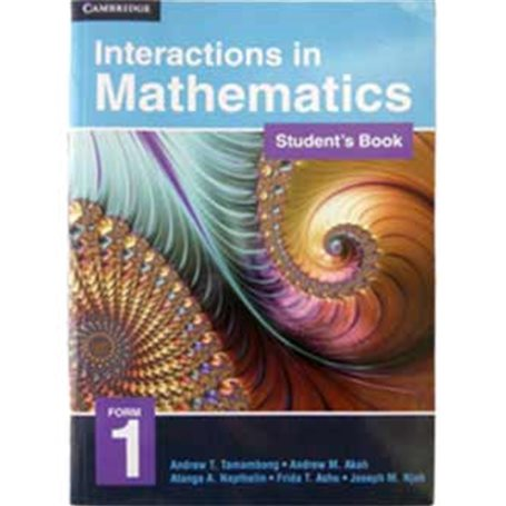 Interactions in mathematics | Level Form 1