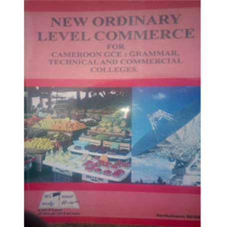 New ordinary level commerce for Cameroon | Level Form 3