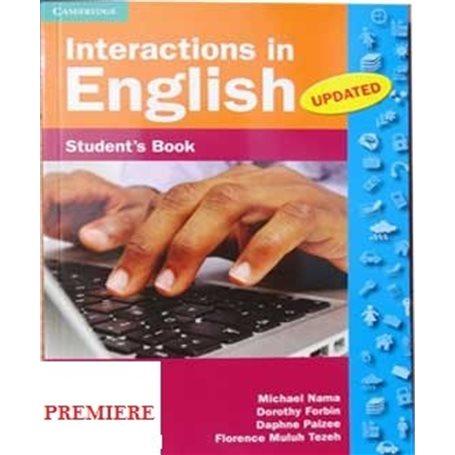 Interactions in English | Niveau 1ère A et SES - 1ère C et E - 1ère D et TI
