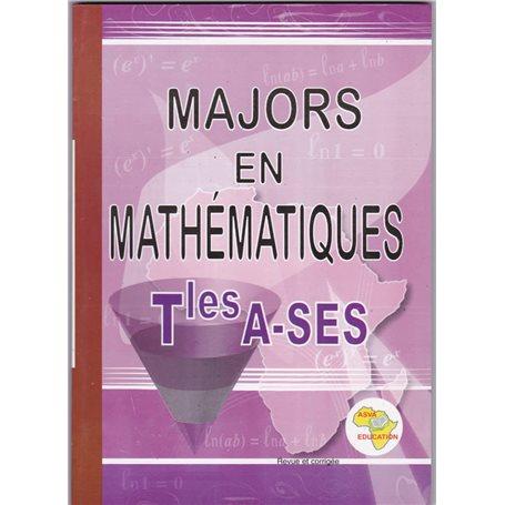 Majors en Mathématiques | Niveau Tle A et SES