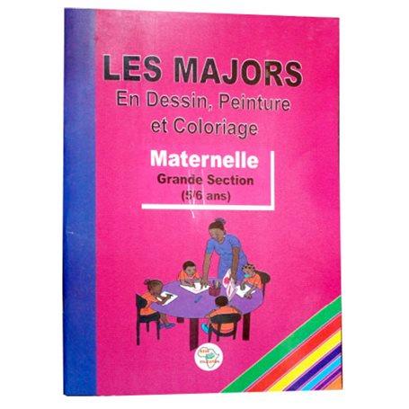 Les majors en coloriage | Niveau Maternelle 2ème année