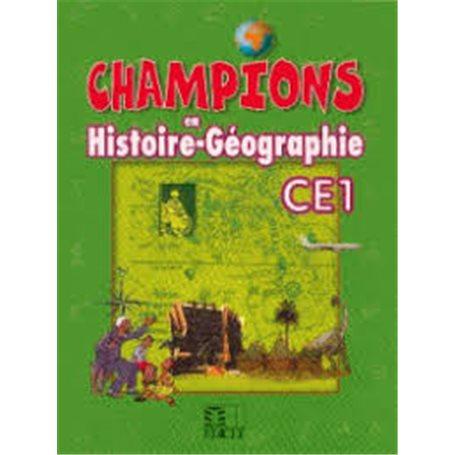 Champions en Histoire-Géographie | Niveau  CE1