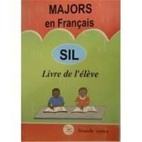 MAJORS en Français - Livre de l'élève | Niveau  SIL