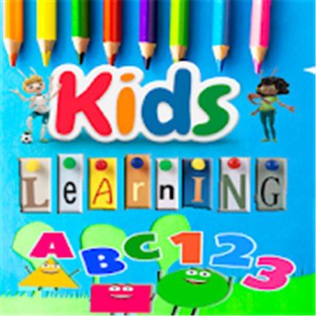 Kids Learning - ABC , 123 , colour , shape