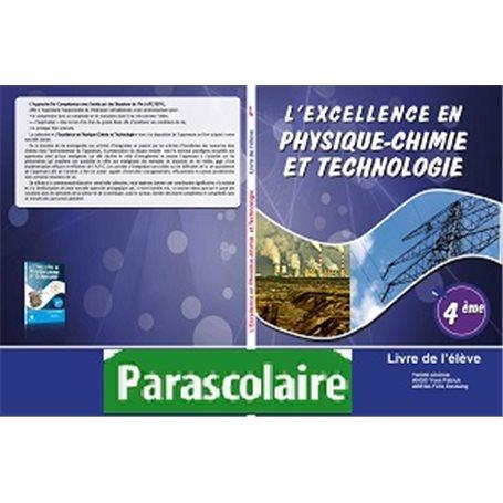 Physique-Chimie et technologie -  Collection l'Excellence Livre parascolaire  | Niveau 4eme