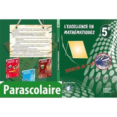 Mathématiques -  Collection l'Excellence Livre parascolaire  | Niveau 5eme