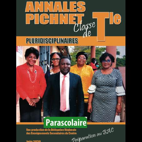 Annales pluridiscinaires Probatoire-Exercices et Corrigés - Collection PICHNET   livre parascolaire | Niveau Tle