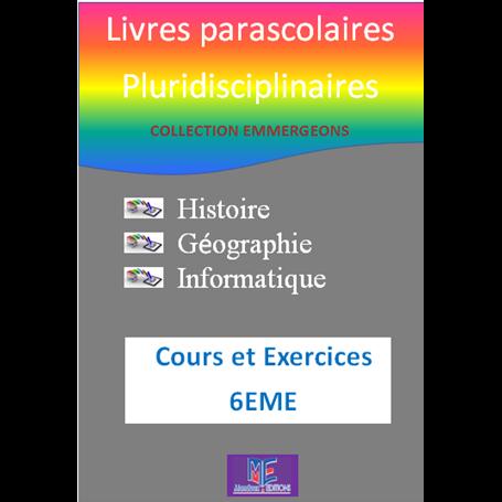 Collection EMERGEONS    Livres parascolaires pluridiciplinaires  e-Book | Niveau 6ème