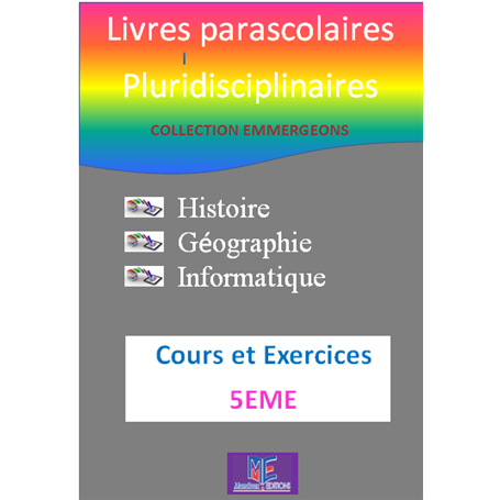 Collection EMERGEONS    Livres parascolaires pluridiciplinaires  e-Book | Niveau 5ème