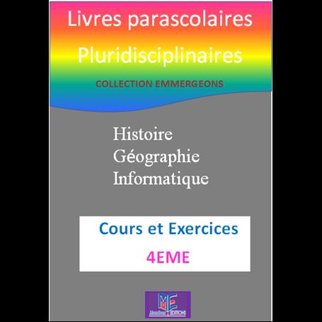 Collection EMERGEONS    Livres parascolaires pluridiciplinaires  e-Book | Niveau 4ème