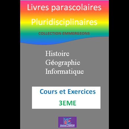 Collection EMERGEONS    Livres parascolaires pluridiciplinaires  e-Book | Niveau 3ème