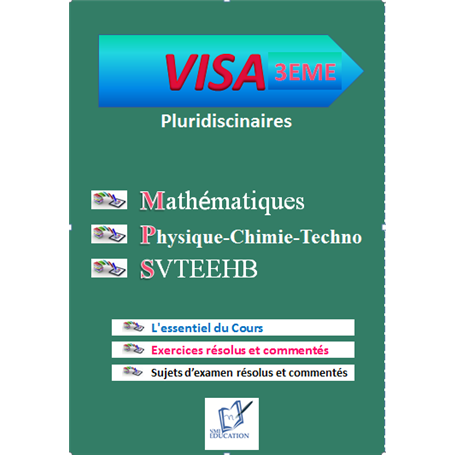 Collection VISA    Annales pluridiciplinaires    e-Book | Niveau 3ème