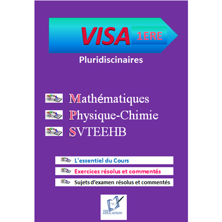 Collection VISA    Annales pluridiciplinaires    e-Book | Niveau 1ère