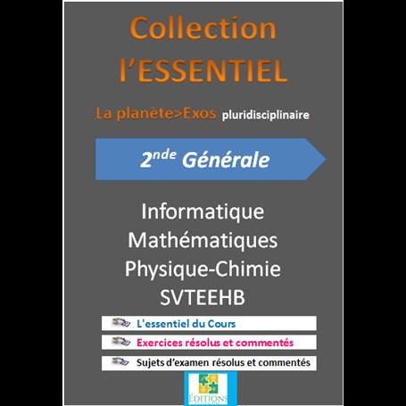 Collection ESSENTIEL    Annales pluridiciplinaires    e-Book | Niveau 2nde