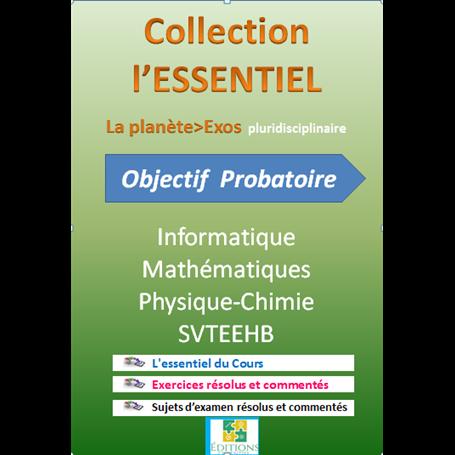 Collection ESSENTIEL    Annales pluridiciplinaires    e-Book | Niveau 1ère