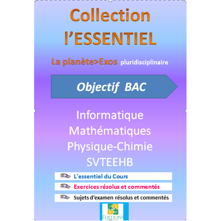 Collection ESSENTIEL    Annales pluridiciplinaires    e-Book | Niveau Tle