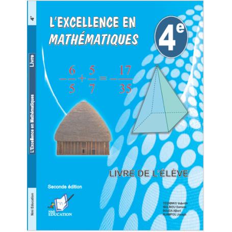 Mathématiques -  Collection l'Excellence Livre parascolaire  | Niveau 4eme