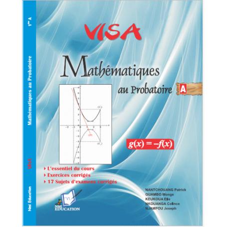 Mathématiques -  Collection VISA Annale et Livre parascolaire  | Niveau 1ere A